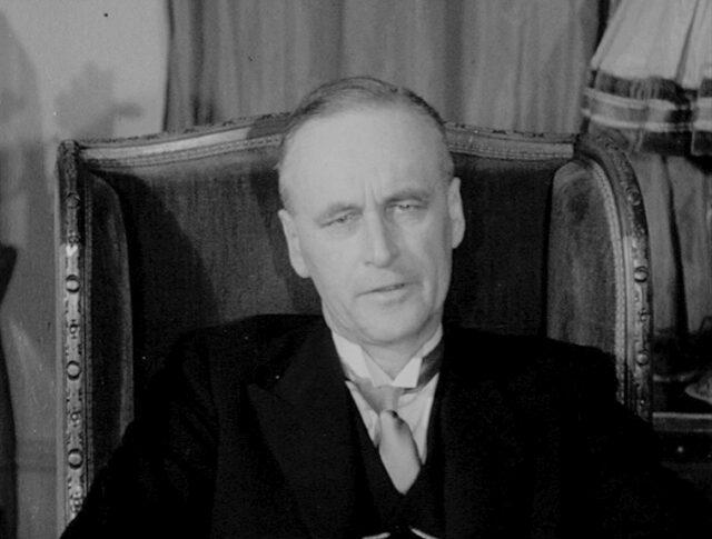 Le nouveau Conseiller fédéral : M. Rodolphe Rubattel (0321-5)