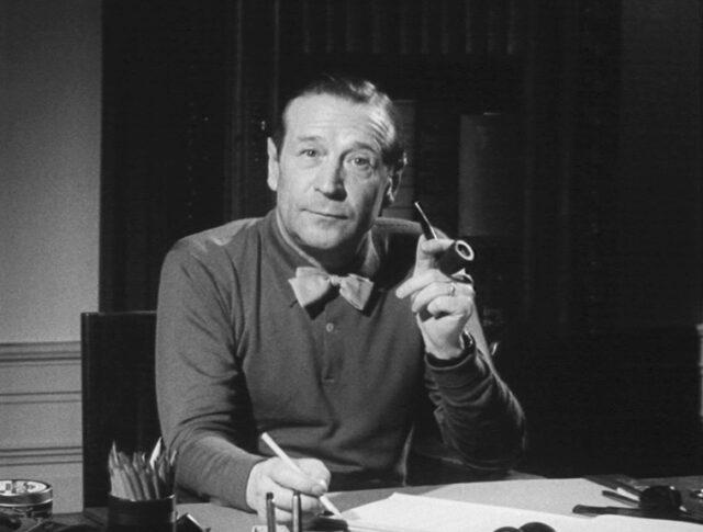 Visite chez Georges Simenon (0794-3)
