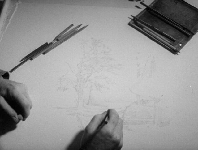 Ouverture du home d'artistes de Boswil (0918-3)