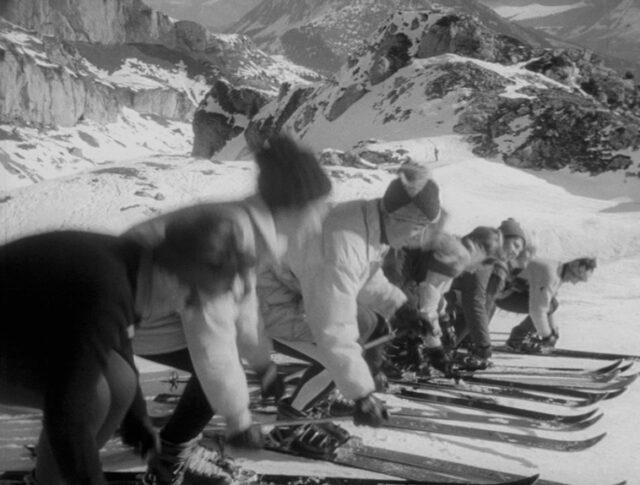 Les alpins suisses se préparent (1138-5)