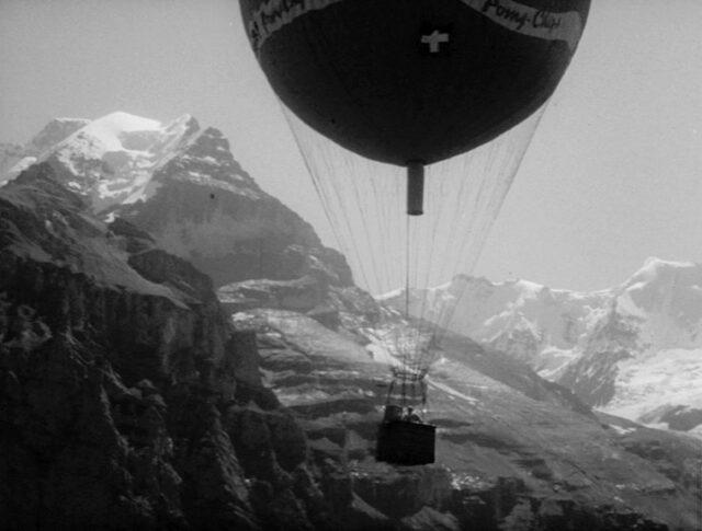 La traversée des Alpes en ballon (1176-5)