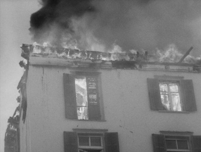 Incendie d'un hôtel à St-Moritz (1443-4)