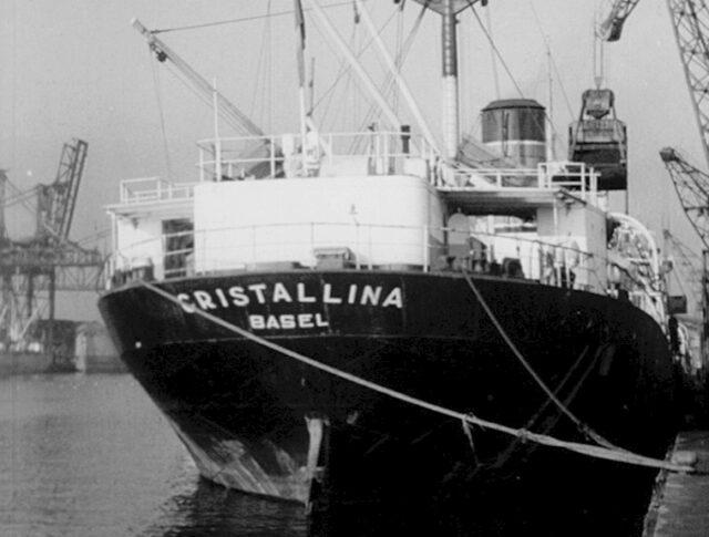 Ein Schweizer Schiff in Gdansk (Danzig) (0323-2)