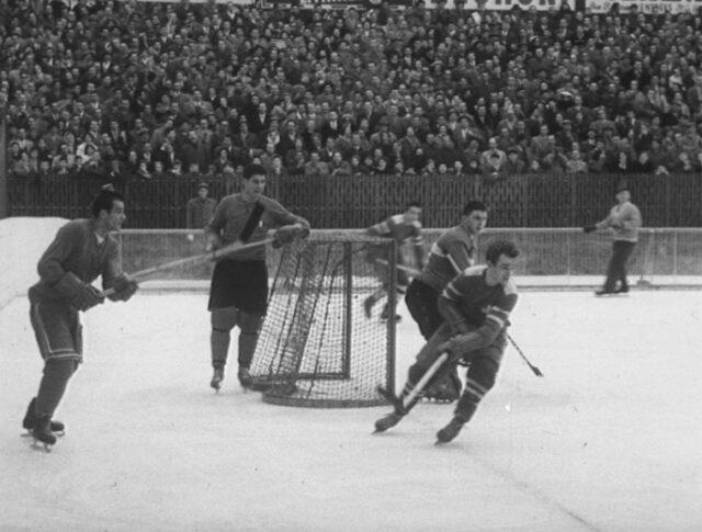 Eishockey Länderspiel (0759-5)