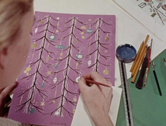 Farbfilm: Weihnachtspapier (0946-3)