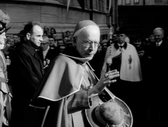 Glückwünsche für Kardinal Journet (1154-2)