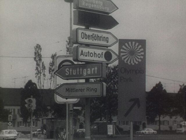 Olympia-Stadt mit Verkehrsproblemen (1516-2)