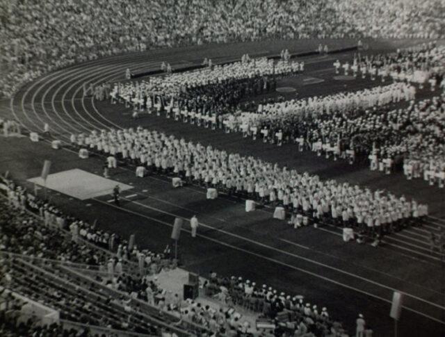 München: Eröffnung der Olympiade (1521-2)