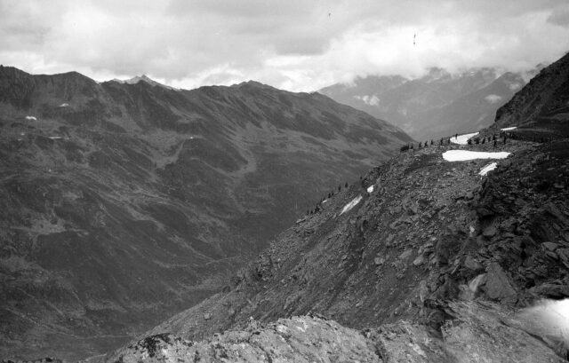 Aufstieg zum Col de Lacèranche
