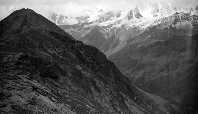 Panorama vom Col de Lacèranche
