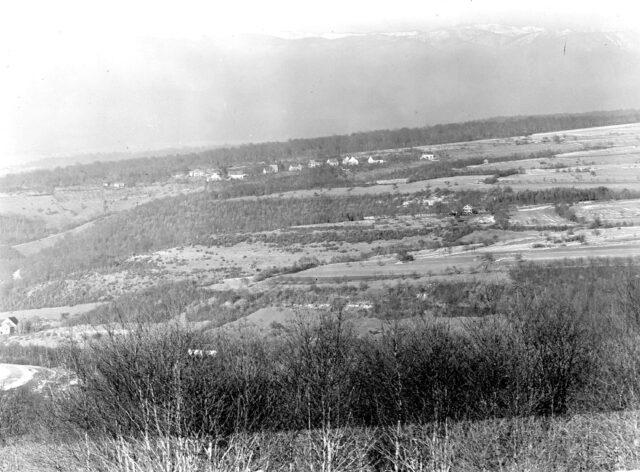 Panorama von Pkt. 705 bei Damvant