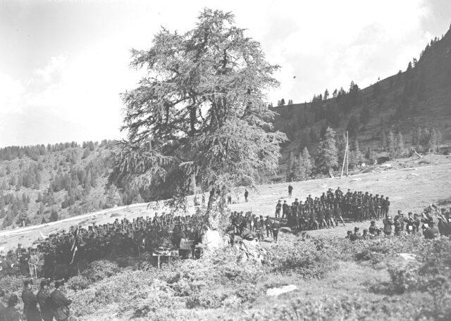 Der Feldgottesdienst auf der Alp