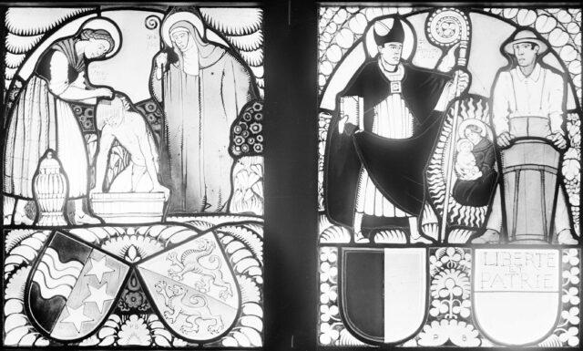 Glasmalereien für das Soldatenhaus Dübendorf: Wappenscheiben