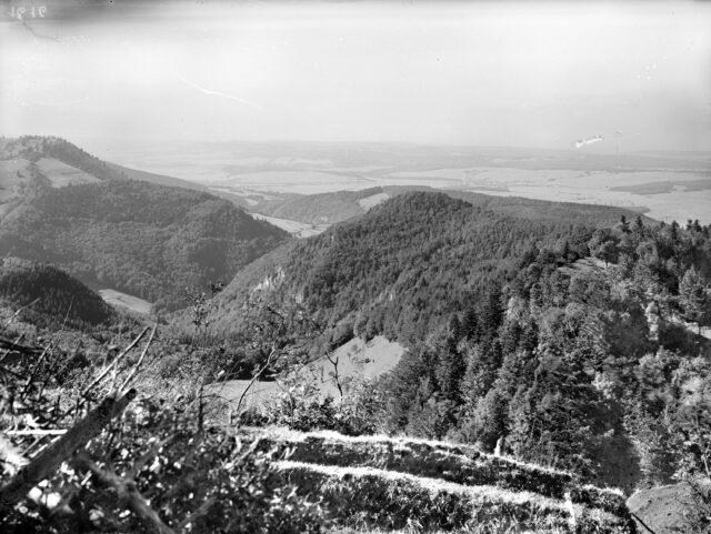 Panorama von Les Ordons