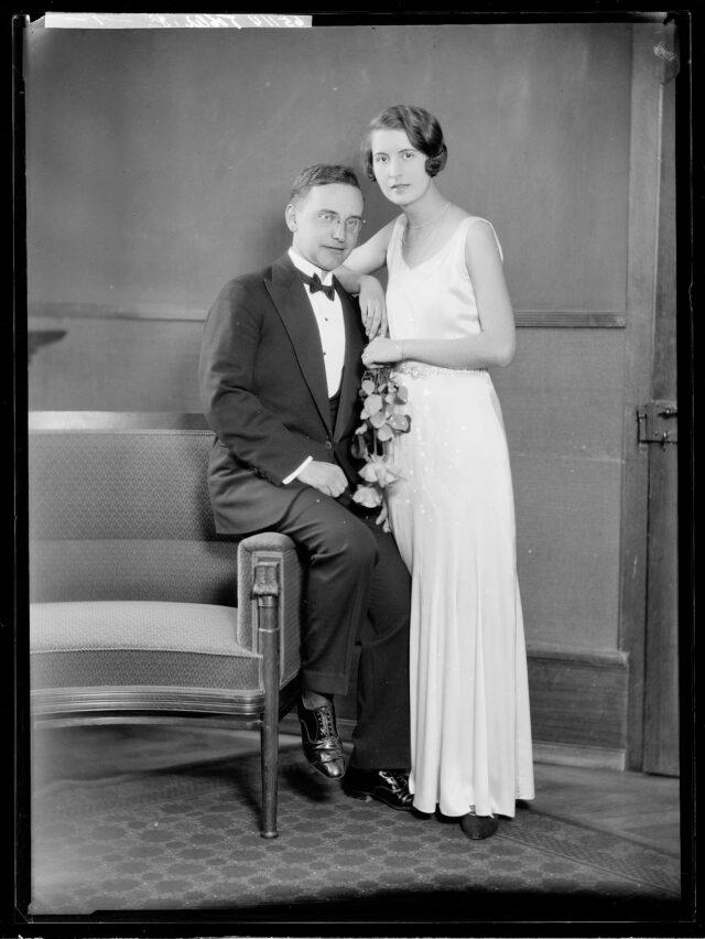 Doppelporträt Herr und Frau Tobler
