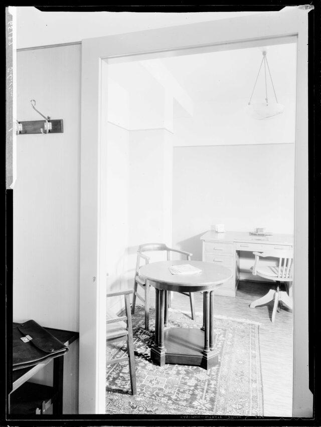 Büro von Herr Scheitlin, vermutl. Sihlporte 3