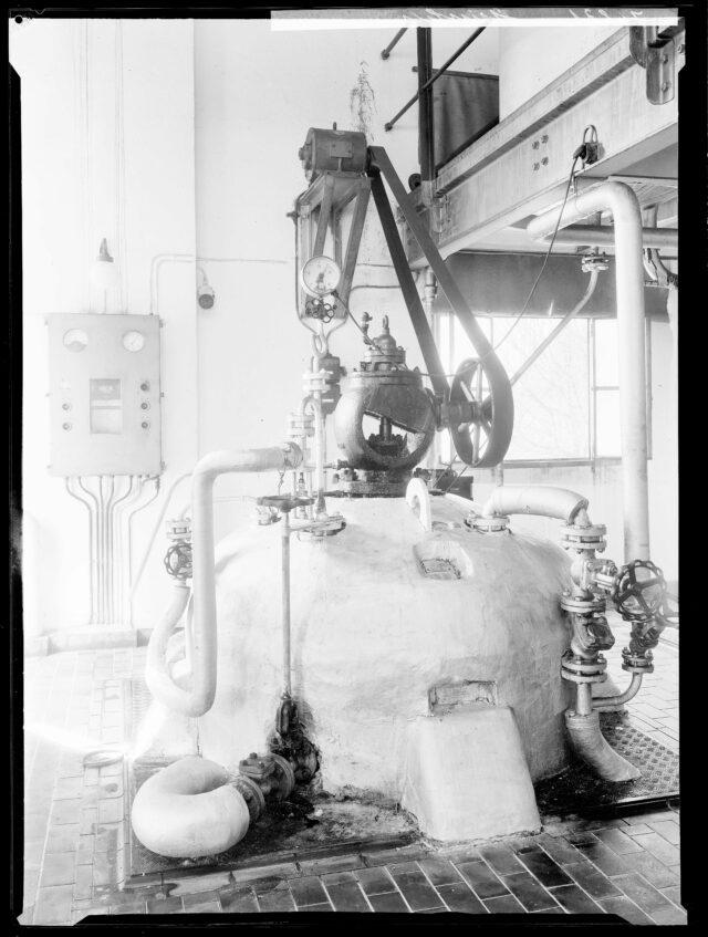 Autoklav (verschliessbarer Druckbehälter) der Seifenfabrik Steinfels, Zürich