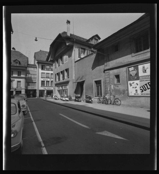 Bern: Blick durch die Inselgasse in die Amthausgasse