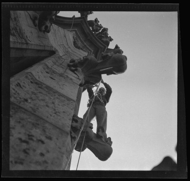 Bern: Besteigung des Münsterturms mit Seilen