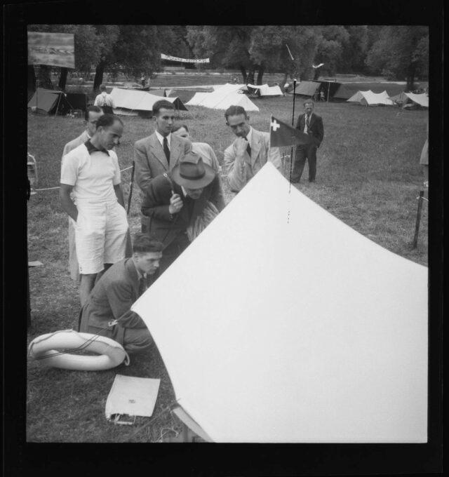 Zeltsportschau des Camping-Clubs Bern im Eichholz