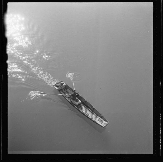 Ruderboot auf dem Wohlensee