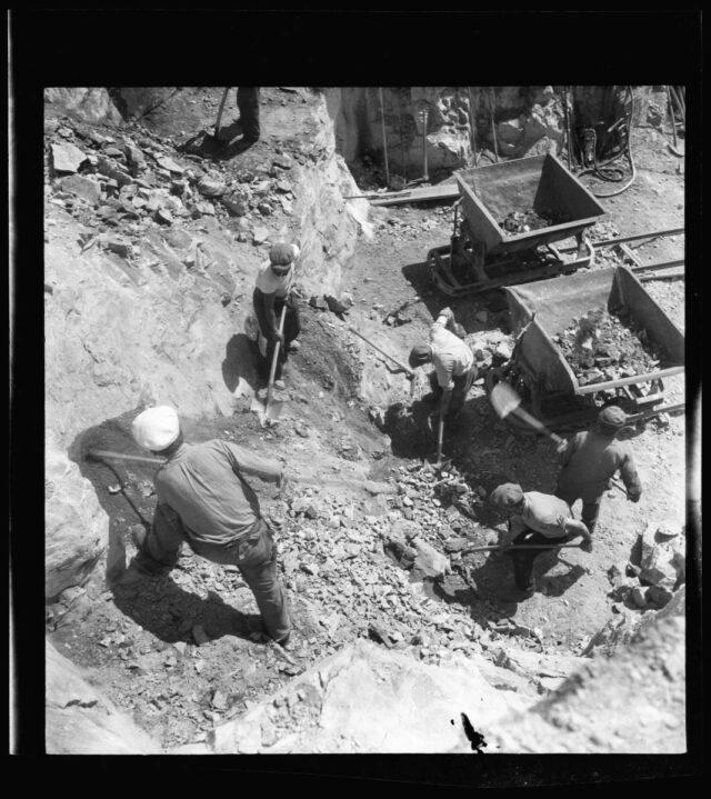 Bau der Sustenstrasse