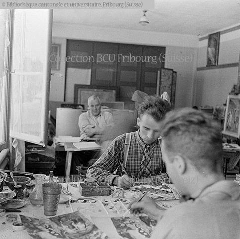 Alexandre Cingria (1879-1945), Meuwly et de Saadler, artistes peintres