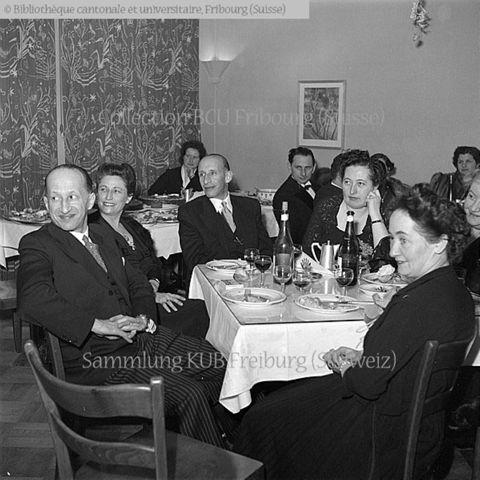 Fribourg: soirée de la WIZO, à l'écoute: Gaston Ullmo, Mlle Brunschwig, Joseph Bollag, Hortense Bollag, Eva Ullmo