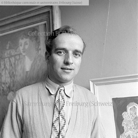 Fribourg: Raymond Meuwly, artiste peintre, président du Salon des peintres