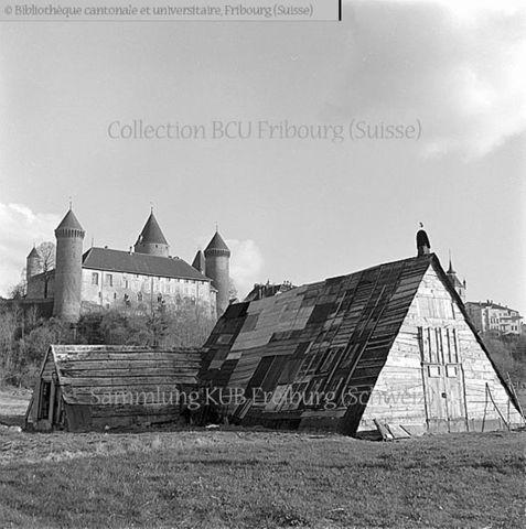 Broye, Estavayer-le-Lac: le Château