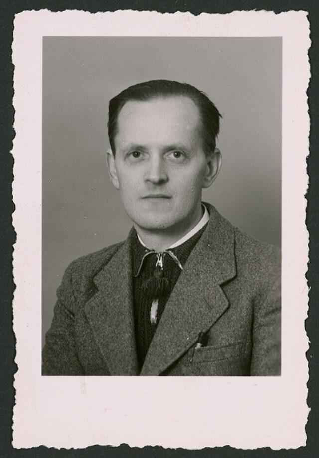 Photo passeport de Josef Tcherv