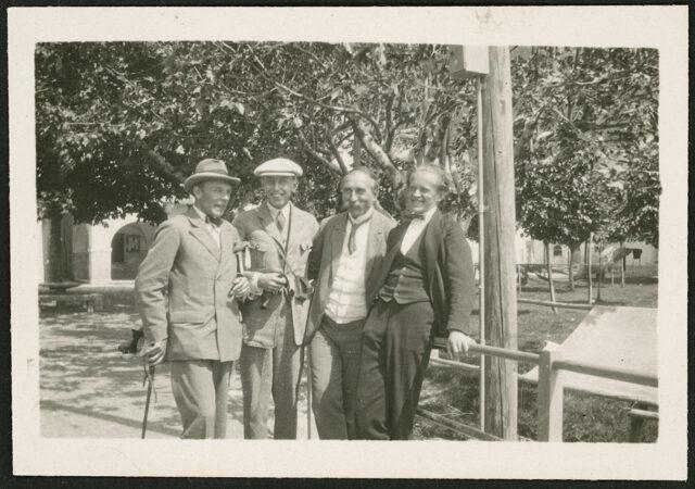 Mojmir Urbanek, César Thomson William Ritter et Josef Tcherv
