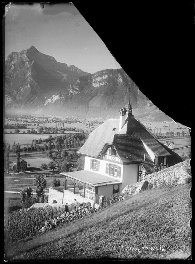 """Vue extérieure de la Villa """"Zum Bergli"""""""