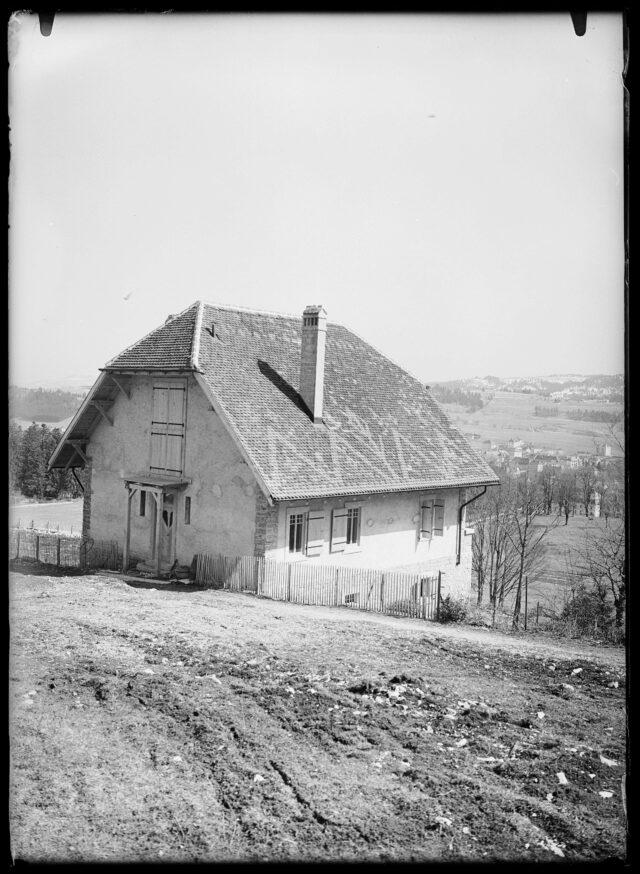 Vue extérieure de la Villa L'Eplattenier à La Chaux-de-Fonds