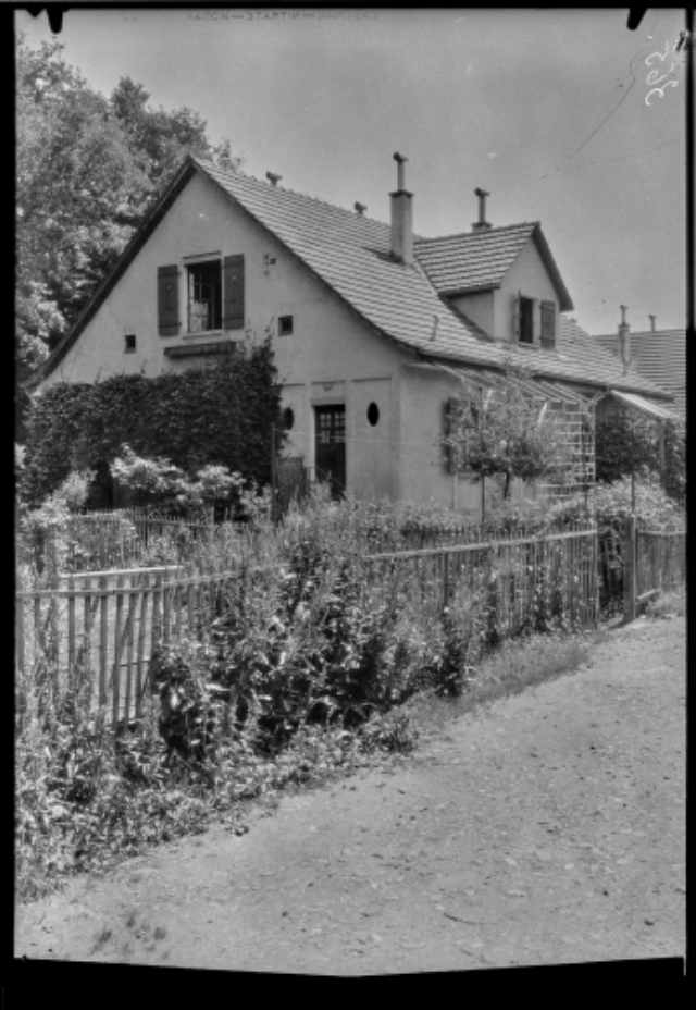 Lancy, chemin de Tivoli : villa Gardy