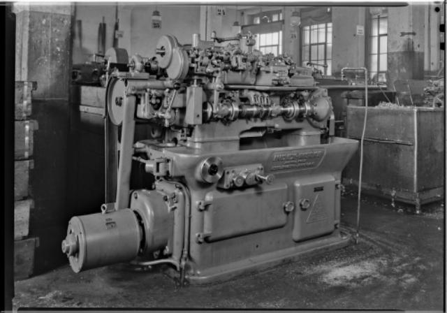 Genève, avenue de la Jonction : atelier de l'usine Gardy