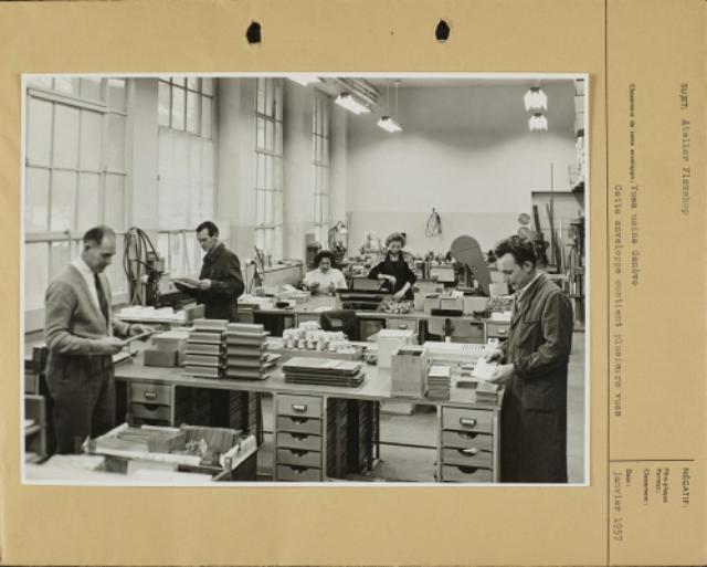 Genève, avenue de la Jonction : atelier Flexshop de l'usine Gardy