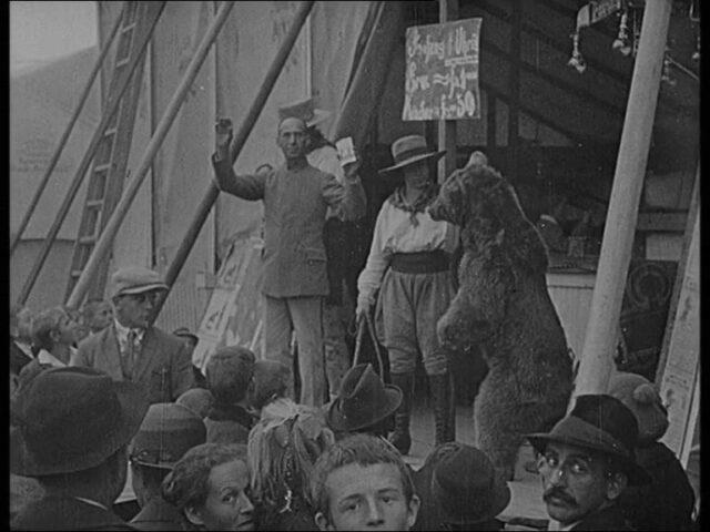 Jahrmarkt Herisau 1924