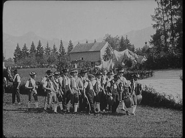 Trachtenfest in Appenzell Sonntag d. 20. Juli 1924 / La fête de costume à Appenzell Dimanche, le 20 juillet 1924