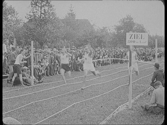 Eidgenössischer Turnverein - Meisterschafts-Wettkämpfe in Langenthal 6. September 1925