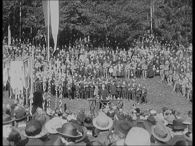 [Die Näfelser Schlachtfeier 5. April 1923]