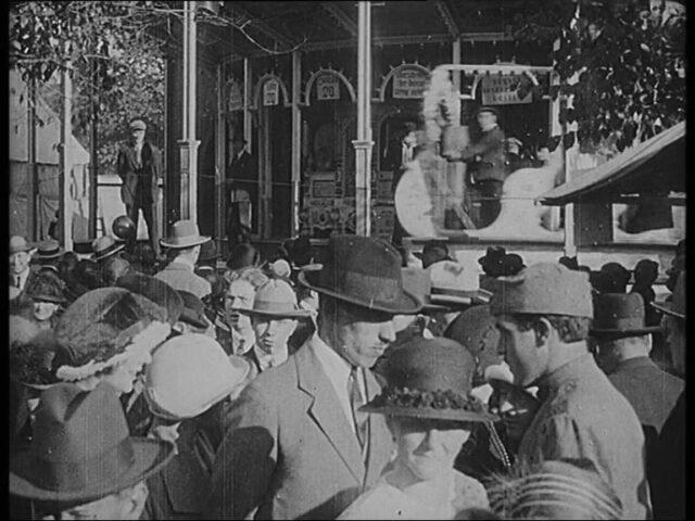 Herbst-Jahrmarkt (Messe) in St. Gallen Sonntag den. 12. Okt. 1924
