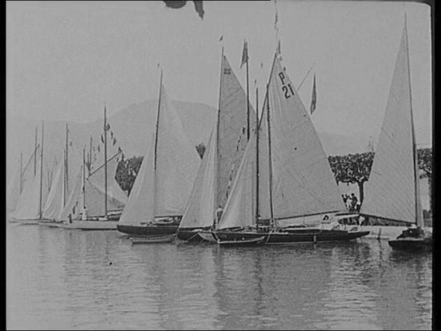 II. Pfingst-Regatta vor Rapperswil, am 20. Mai 1923.