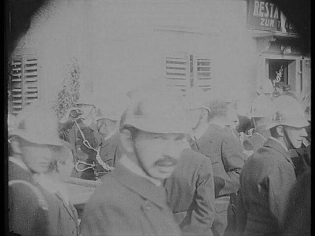 [XXV. Feuerwehrtag des Feuerwehrverbands an der Linth Rapperswil, 22. Juli 1923]