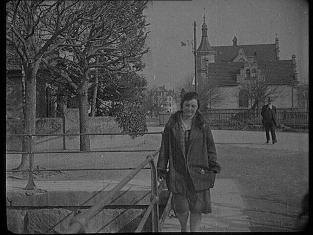 [Ansichten von Rapperswil um 1925] Seequai und Brücke