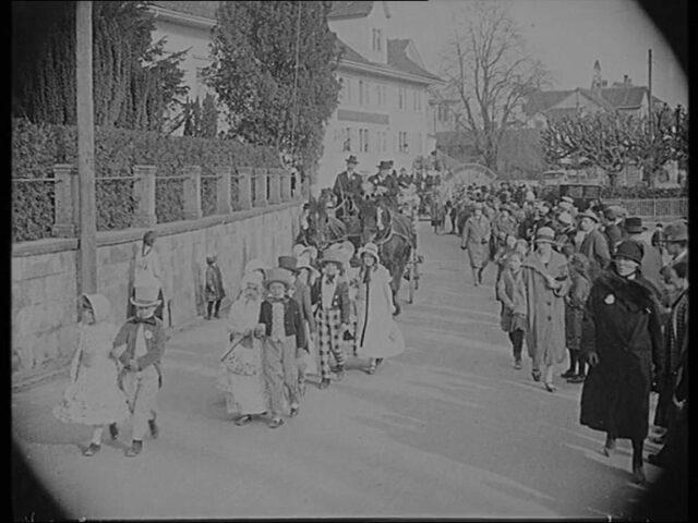 Fastnachts-Umzug Meilen 1927