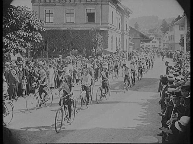 Radsport-Fest und interkantonaler Verbandstag des Gauverbandes Zürichsee, Oberland und Linthgebiet in Wädenswil Sonntag, 15. August 1926