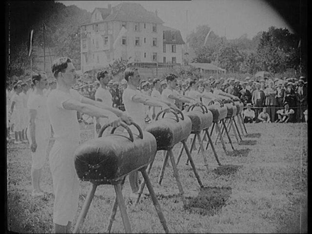 26. Zürcher-Kantonal-Turnfest in Oerlikon am 6. 7. 8. Juli 1923.