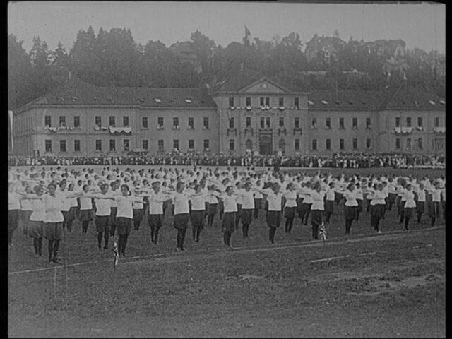 57. Eidgenössisches Turnfest vom 21.- 25. Juli 1922 in St. Gallen