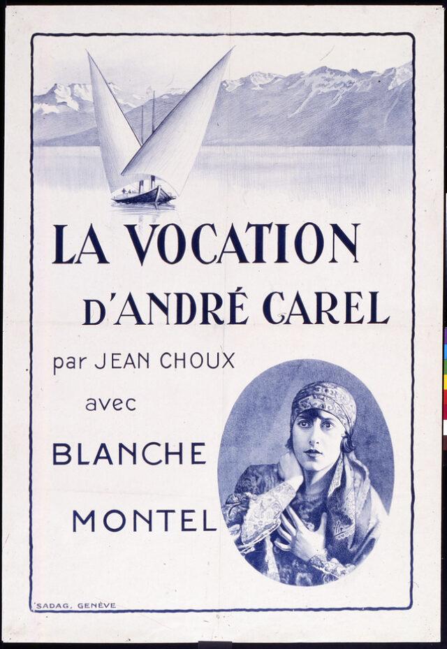 La Vocation d'André Carel